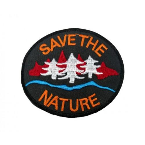 Save The Nature Outdoors Patches Arma Peç Kot Yaması