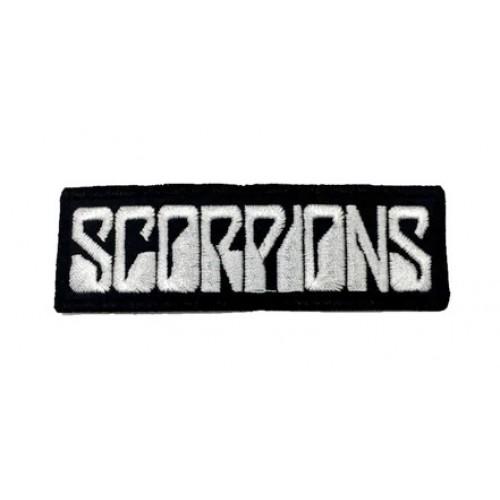 Scorpions Rock Metal Patches Arma Peç Kot Yaması