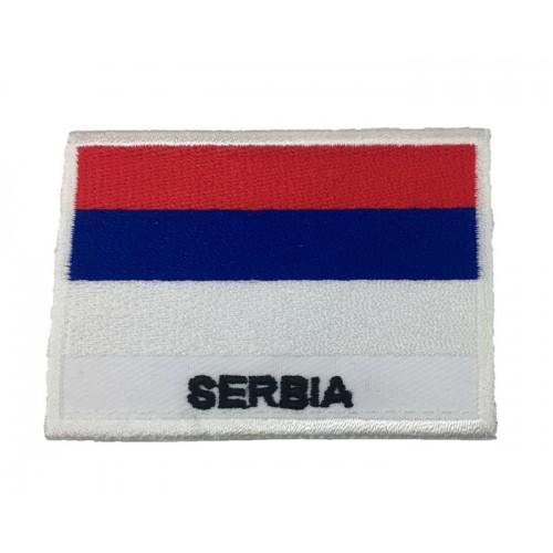 Sırbistan Bayrak Patches Arma Yama