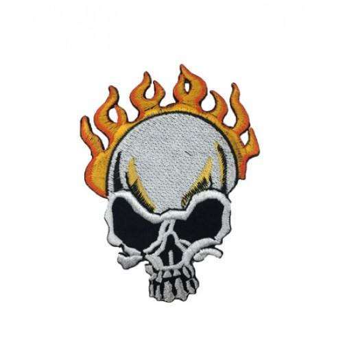 Skull Kurukafa Patches Arma Yama Peç 18