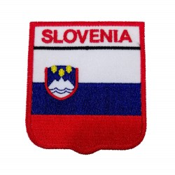 Slovenya Bayraklı Patches Arma Peç Kot Yaması