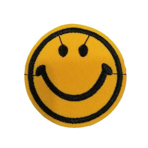 Smiley Face Gülenyüz Ptaches Arma Peç Kot Yaması