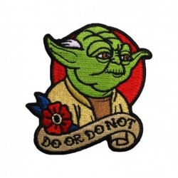 Star Wars Yoda Film Patches Arma Peç Kot Yaması 1