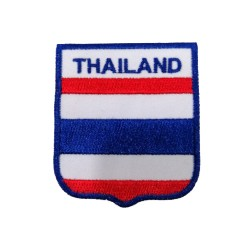Tayland Bayraklı Patches Arma Peç Kot Yaması