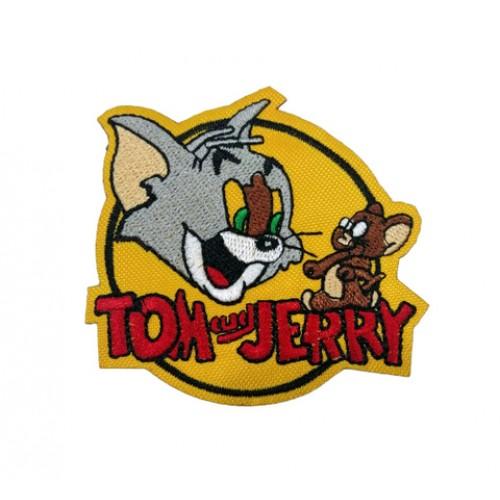 Tom ve Jerry Film Patches Arma Peç Kot Yaması