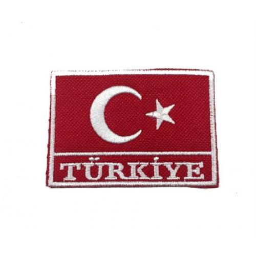 Türkiye Bayrak Patches Arma Yama Peç 5
