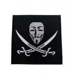 V-For Vendetta Film Patches Arma Peç Kot Yaması