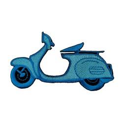 Vespa Mavi Motor Patches Arma Peç Kot Yaması