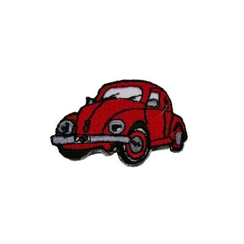 Vosvos Volkswagen Beetle Kırmızı Araba Küçük Boy Patches Arma Peç Kot Yaması