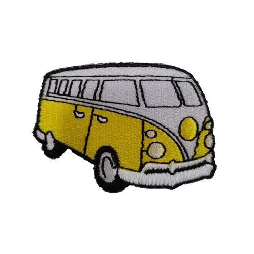 Vosvos Volkswagen Sarı Minibüs Patches Arma Peç Kot Yaması