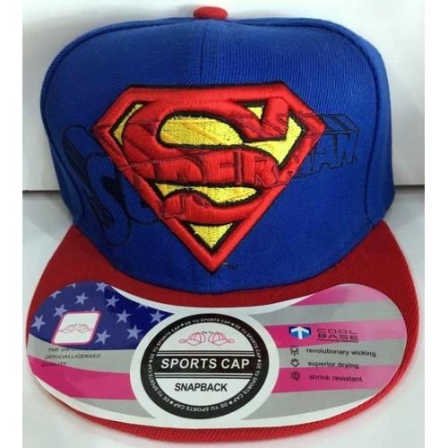 SUPERMAN SNAPBACK CAP 1