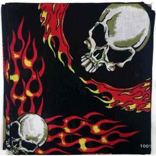 Skull Kurukafa Desenli Bandana 2